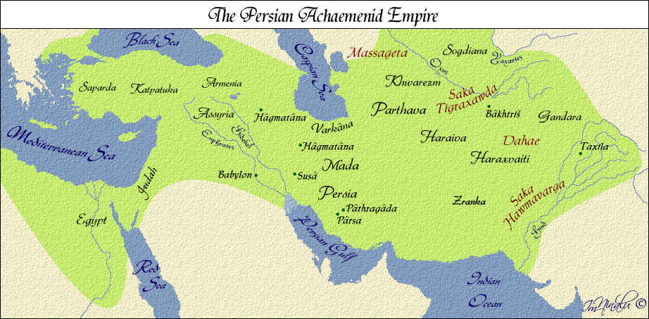 The vast Empire of Achaemenid