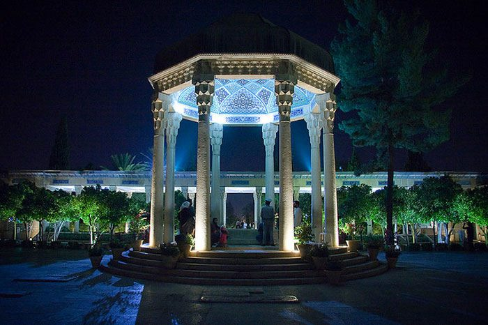 Hafez Tomb in Shiraz